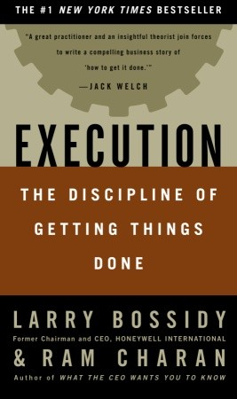 Execution: The Discipline of Getting Things Done sample.
