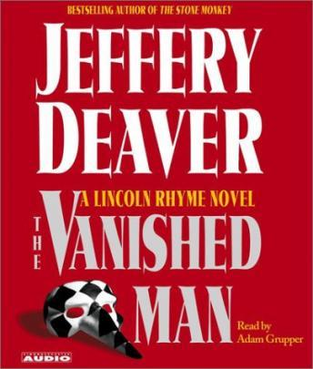 Vanished Man: A Lincoln Rhyme Novel sample.