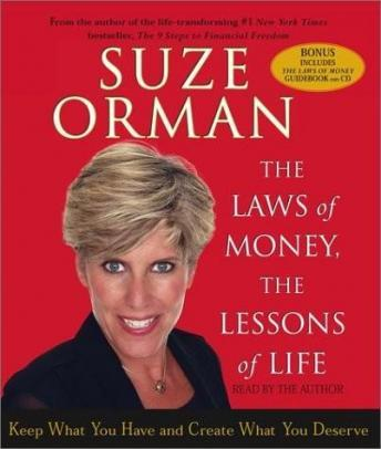 The Laws of Money, The Lessons of Life, Suze Orman