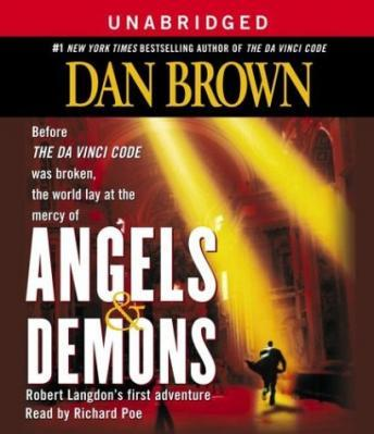 Angels & Demons, Dan Brown