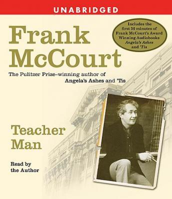 Teacher Man: A Memoir, Audio book by Frank McCourt