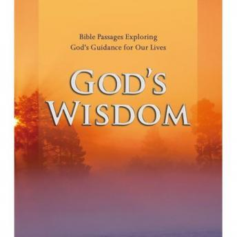 God's Wisdom: Bible Passages Exploring God's Guidance for Our Lives, Simon & Schuster Audio