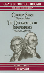 Common Sense/The Declaration of Independence, George H. Smith