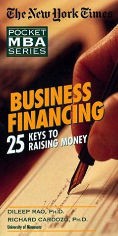 Business Financing: 25 Keys to Raising Money sample.