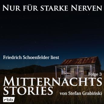 Mitternachtsstories von Stefan Grabinski - Nur für starke Nerven, Folge 3 (ungekürzt)