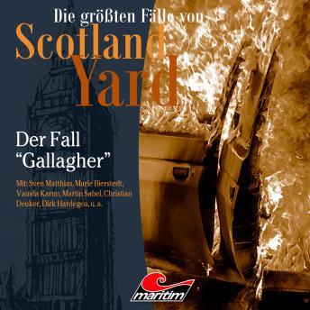 Die größten Fälle von Scotland Yard, Folge 35: Der Fall 'Gallagher'