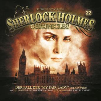 Sherlock Holmes Chronicles, Folge 22: Der Fall der 'My Fair Lady'