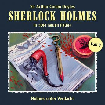 Sherlock Holmes, Die neuen Fälle, Fall 9: Holmes unter Verdacht