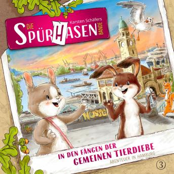 Die Spürhasen-Bande, Folge 3: In den Fängen der gemeinen Tierdiebe oder Abenteuer in Hamburg