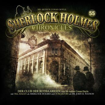Sherlock Holmes Chronicles, Folge 55: Der Club der Rothaarigen
