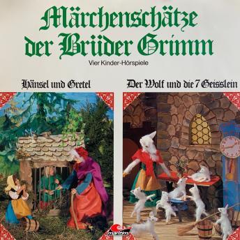 Märchenschätze der Brüder Grimm, Folge 1: Hänsel und Gretel, Der Wolf und die sieben Geißlein, Rotkä