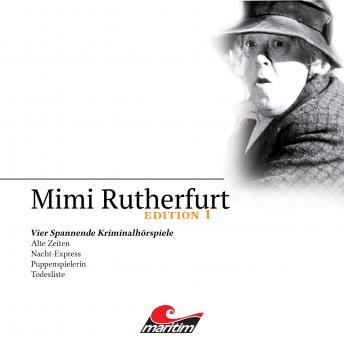 Mimi Rutherfurt, Edition 1: Vier Spannende Kriminalhörspiele