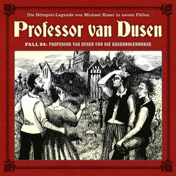 Professor van Dusen, Die neuen Fälle, Fall 24: Professor van Dusen und die Regenbogenmorde