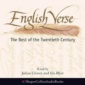 English Verse: The Best of the Twentieth Century, Various