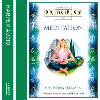 Meditation: The Only Introduction You'll Ever Need, Christina Feldman