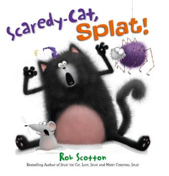 Scaredy-Cat, Splat!, Rob Scotton
