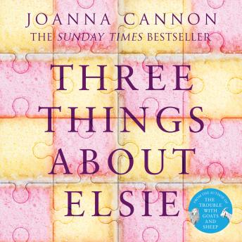 Three Things About Elsie: LONGLISTED FOR THE WOMEN'S PRIZE FOR FICTION 2018, Joanna Cannon