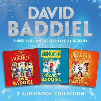 Brilliant Bestsellers by Baddiel (3-book Audio Collection): The Parent Agency, AniMalcolm, Head Kid