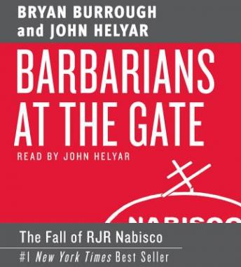 Download Barbarians at the Gate by Bryan Burrough