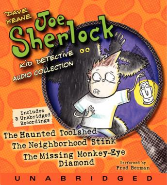 Joe Sherlock, Kid Detective Audio Collection, Dave Keane