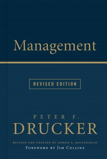 Management Rev Ed, Peter F. Drucker