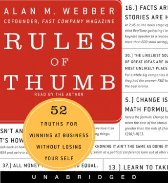 Rules of Thumb, Alan M. Webber