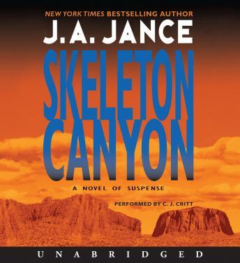 Skeleton Canyon, J.A. Jance