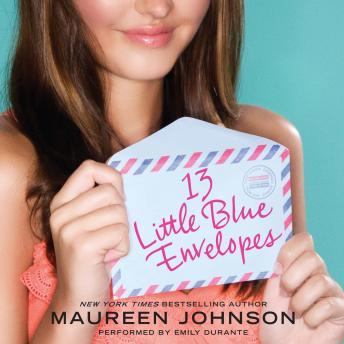 13 Little Blue Envelopes, Maureen Johnson