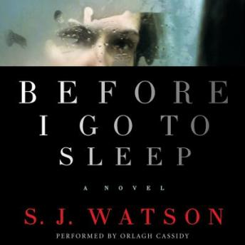 Before I Go To Sleep: A Novel, S.J. Watson