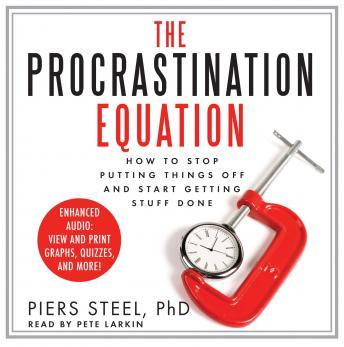 Procrastination Equation: How to Stop Putting Things Off and Start Getting Stuff Done sample.