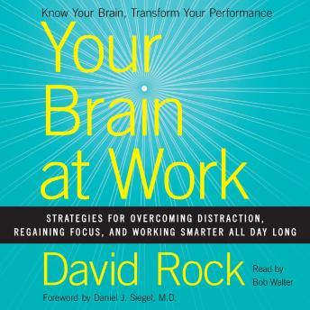 Your Brain at Work: Strategies for Overcoming Distraction, Regaining Focus, and Working Smarter All Day Long, David Rock