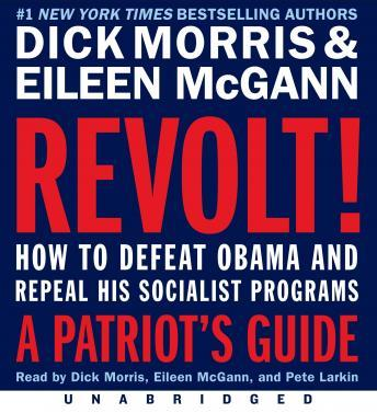 Revolt!: How to Defeat Obama and Repeal His Socialist Programs, Eileen McGann, Dick Morris
