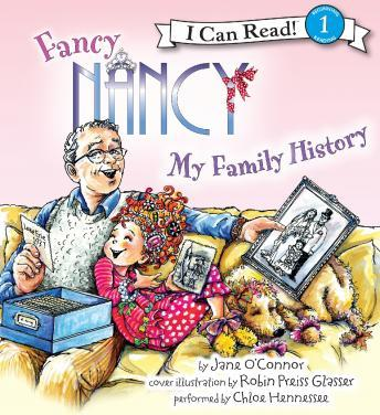 Fancy Nancy: My Family History sample.