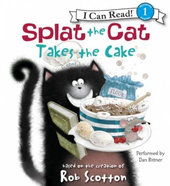 Splat the Cat Takes the Cake, Rob Scotton