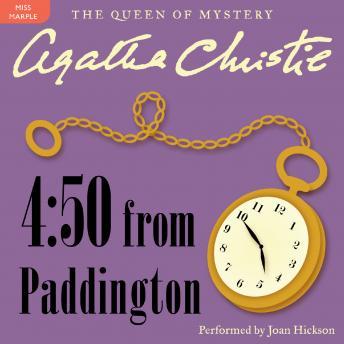 4:50 From Paddington: A Miss Marple Mystery