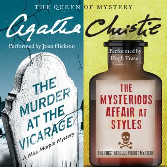 Murder at the Vicarage & The Mysterious Affair at Styles, Agatha Christie