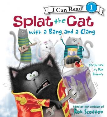 Splat the Cat with a Bang and a Clang, Rob Scotton