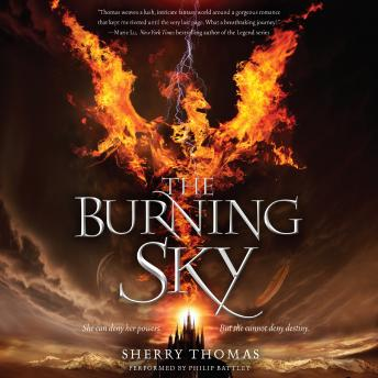 Burning Sky, Sherry Thomas