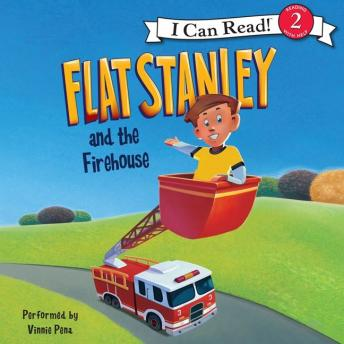 Flat Stanley and the Firehouse: I Can Read Level 2, Macky Pamintuan, Jeff Brown