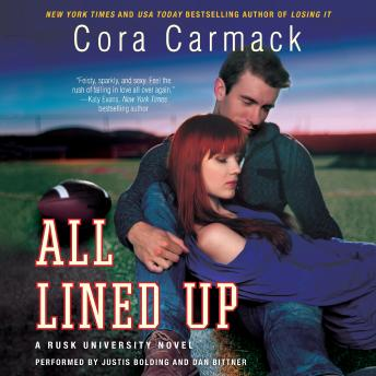 Download All Lined Up: A Rusk University Novel by Cora Carmack