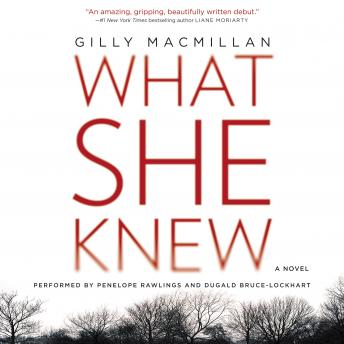 What She Knew: A Novel, Gilly Macmillan