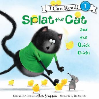 Splat the Cat and the Quick Chicks, Rob Scotton