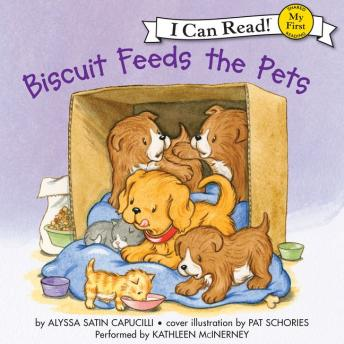 Biscuit Feeds the Pets, Audio book by Alyssa Satin Capucilli