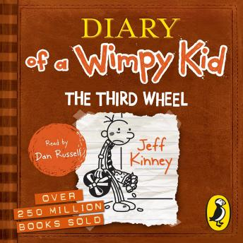 Third Wheel (Diary of a Wimpy Kid book 7), Jeff Kinney