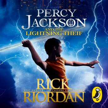 Percy Jackson and the Lightning Thief (Book 1), Rick Riordan