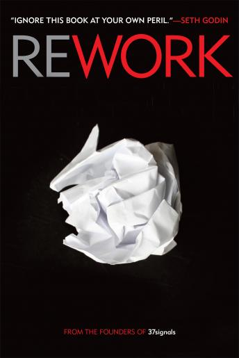 Download Rework by Jason Fried, David Heinemeier Hansson