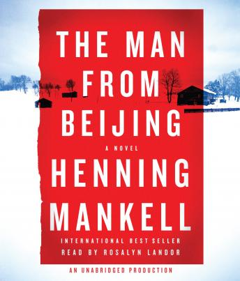 Man from Beijing, Henning Mankell