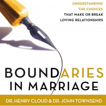 Download Boundaries in Marriage by Dr. John Townsend, Henry Cloud