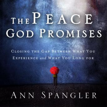 Peace God Promises: Closing the Gap Between What You Experience and What You Long For, Ann Spangler, Connie Wetzell
