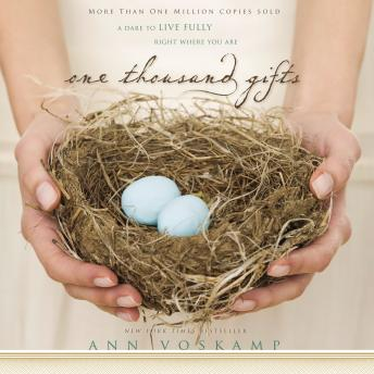 One Thousand Gifts, Ann Voskamp